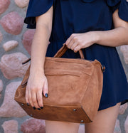 SUEDE CROSS BODY