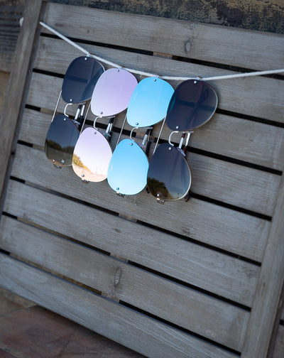 FRAMELESS AVIATORS