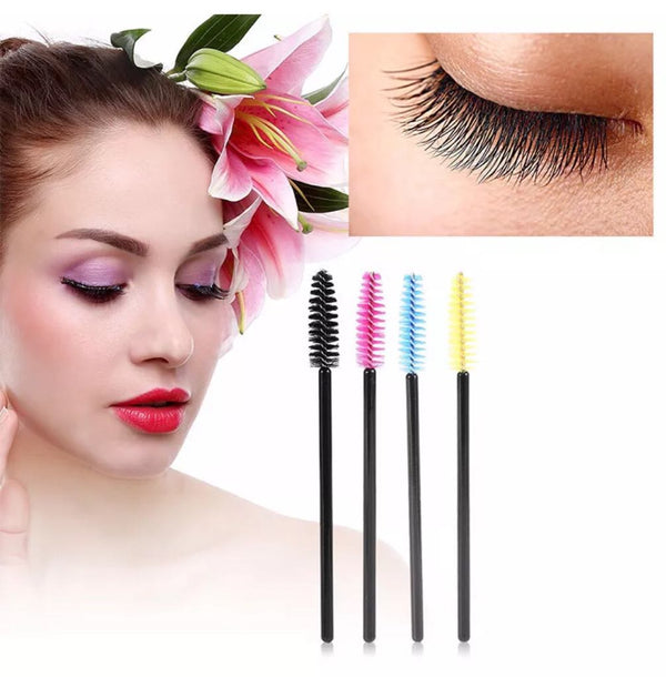 Disposable Eyelashes Wands Mascara Birches
