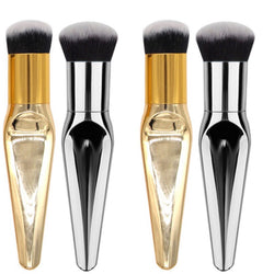 Kinahbeauty Kabuki powder and foundation Liquid Makeup brush.