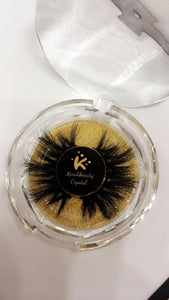 Crystal 25mm 3D Mink Lashes