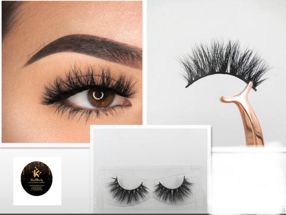 Ebony Luxury 3D Mink Lashes