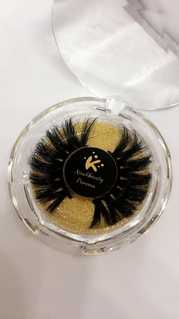 Princess 25mm 3D Mink Lashes
