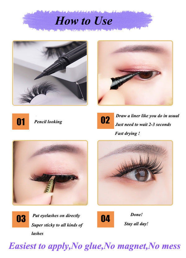 2in1 Magic eyeliner pen
