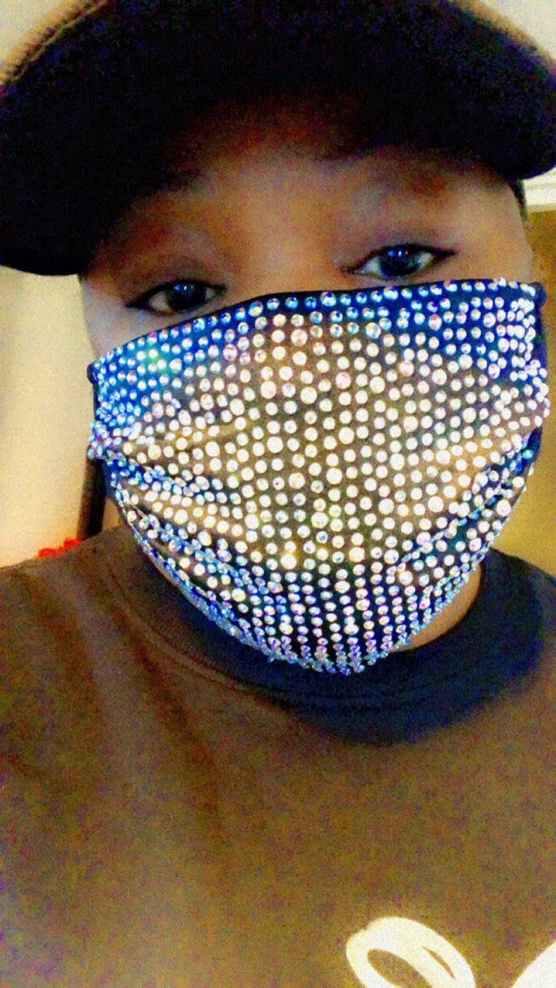 Kinahbeauty Bling Facemask