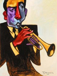 Musical Series - performer playing the trumpet.
