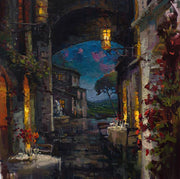 Bella Notte By Steven Quartly - Dinner by candlelight