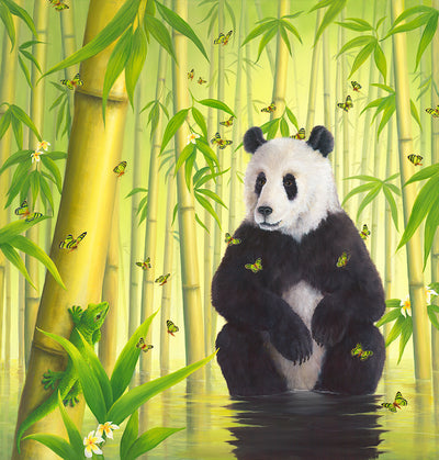 Bamboo Forest By Robert Bissell