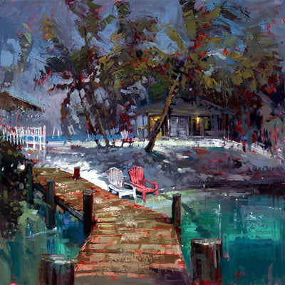 Beachfront coastal cottage - Colors of Paradise By Steven Quartly