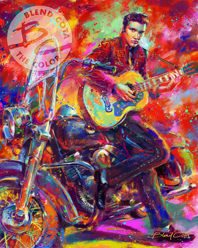 The King Of Rock N Roll By Blend Cota