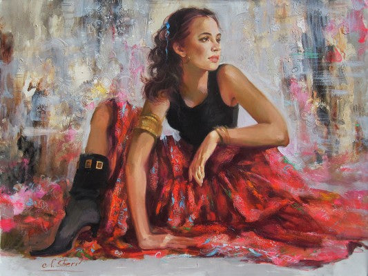 Beautiful Dancer By Irene Sheri