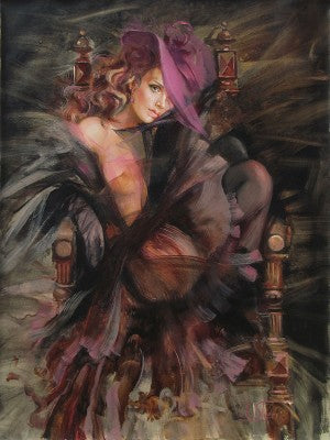 Shades of Purple By Irene Sheri