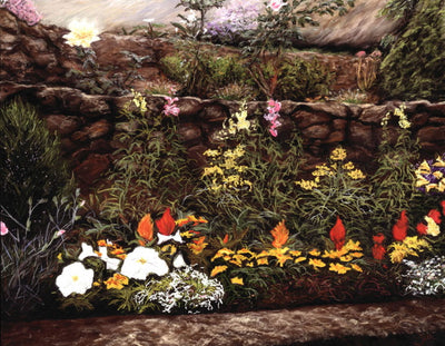 Garden in Bloom By Jill Tishman