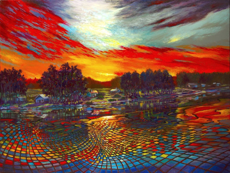 Sundown Montage - 36x48