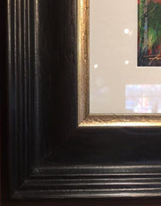 Close-up of frame corner sample