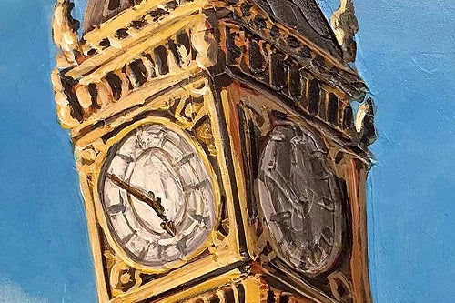 Londons clock tower