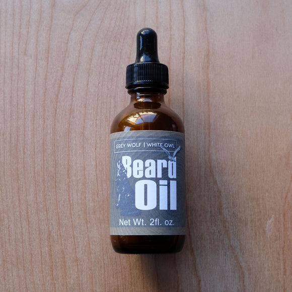 Beard Oil - Grey Wolf | White Owl