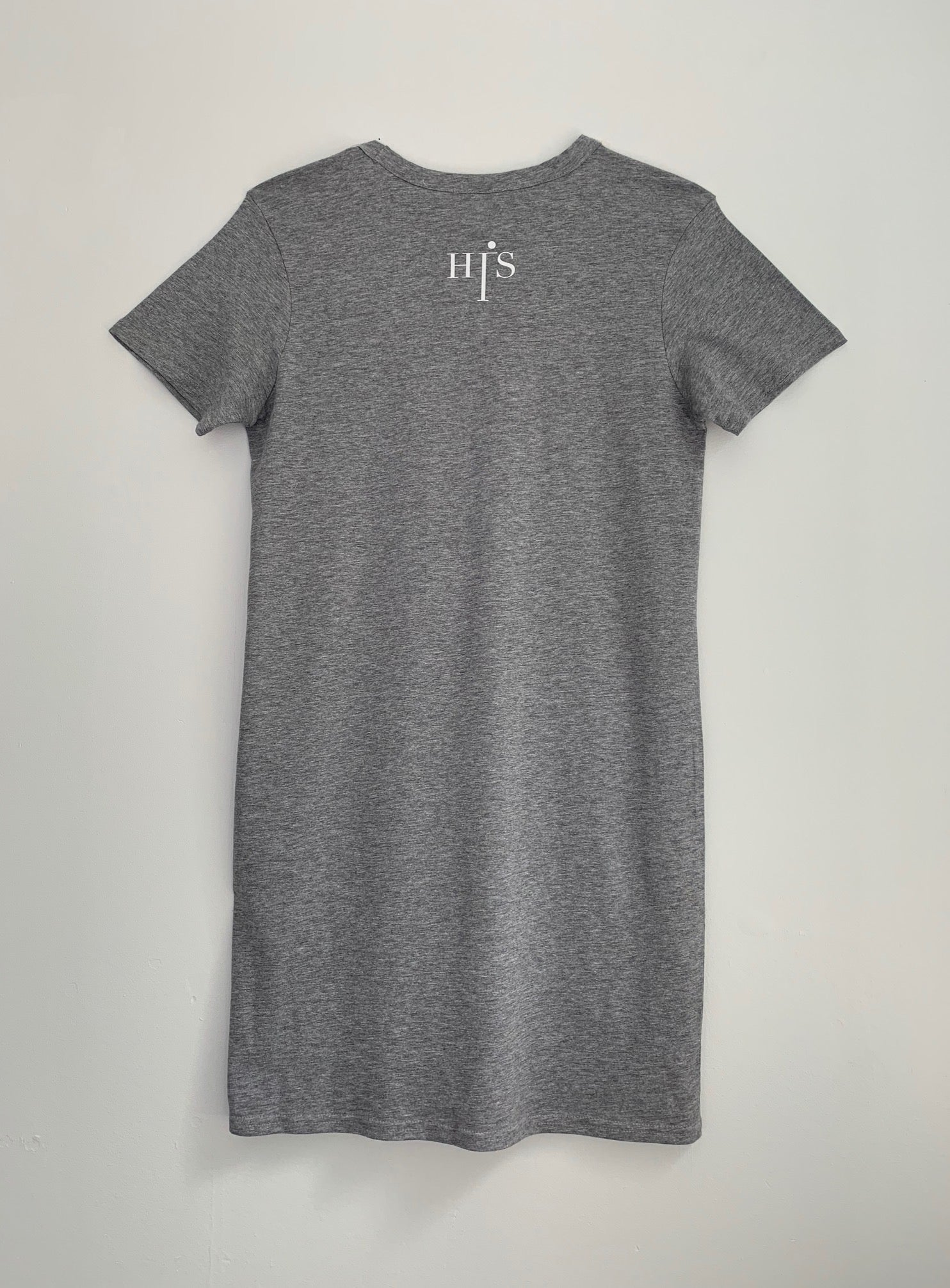 His Long Organic Tee (Grey)