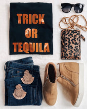 Trick or Tequila Halloween Tee