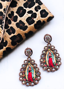 OUR LADY EARRINGS