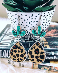 Alamo Leopard Earrings