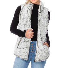 Women's Mocha Sherpa Fleece vest