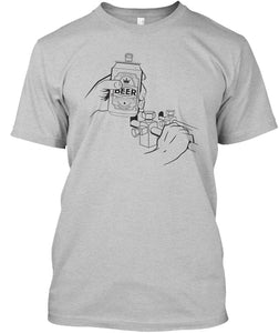 ORIGINAL Beer Can Cold T-Shirt