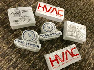 HVAC School Stickers