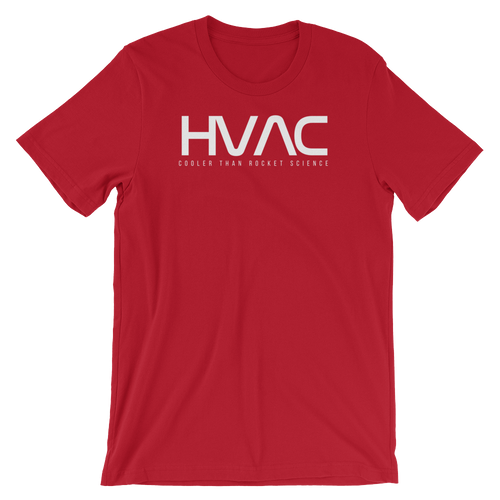 HVAC Rocket Science in Red