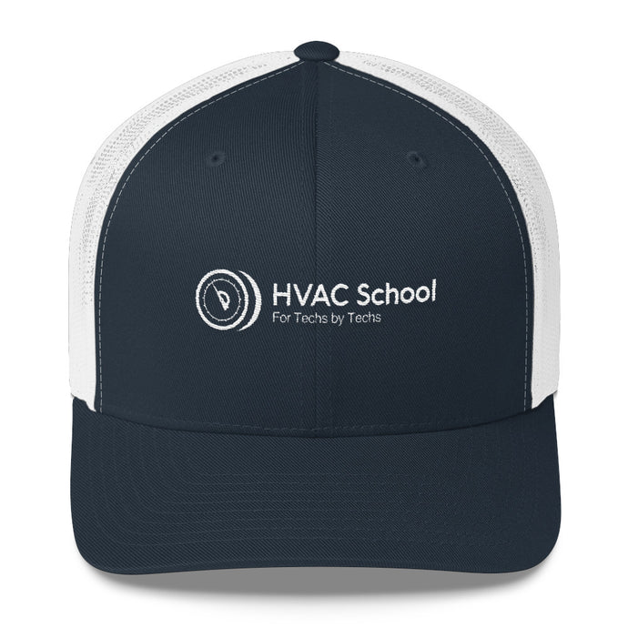HVAC School Trucker Cap
