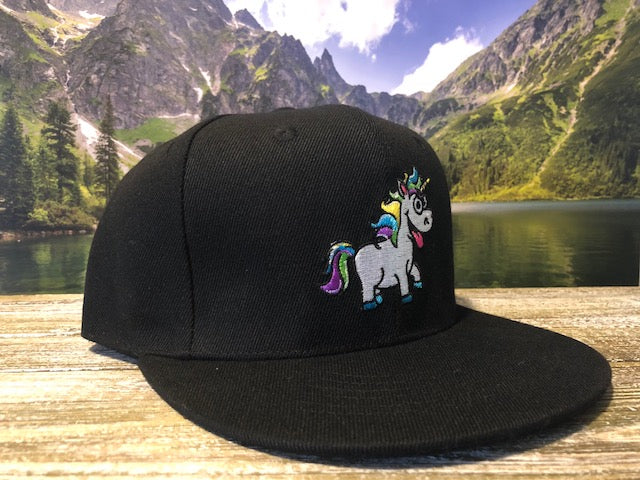 Jane Mary's Black Snapback cap, Merchandise, Jane Mary's - Jane Mary's