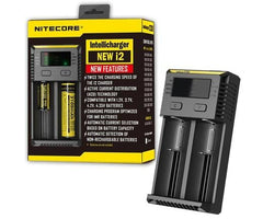 Nitecore i2 2 Channel Battery Charger