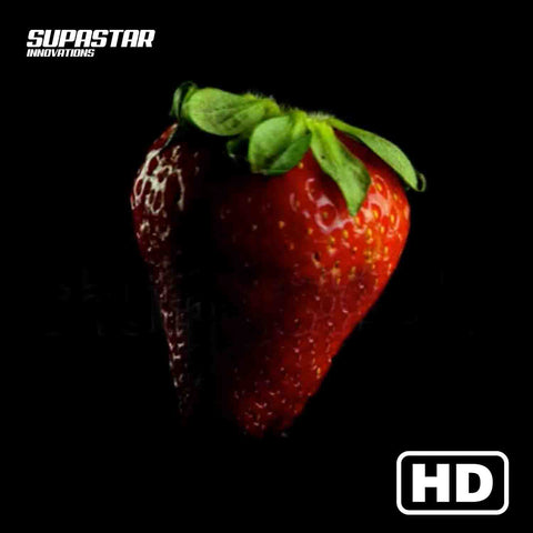 supastar-innovations-led-fan-3d-hologram-content-fruits-strawberry-supastarstore-loop-black-background-footage
