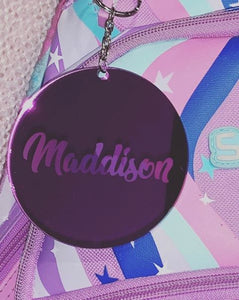 Engraved Custom Name Key Rings - Harper Maddison