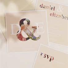 Digital Print Wedding Invitation - Harper Maddison