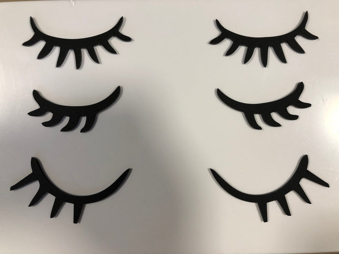 Kids Wall Decor Eye Lashes - Harper Maddison
