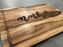 Engraved Large Chopping Board - Harper Maddison