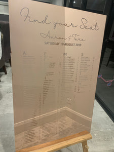 Wedding Wonderland Seating Chart - Harper Maddison