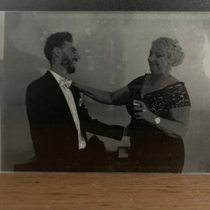 Reversed Engraved Photo - Harper Maddison