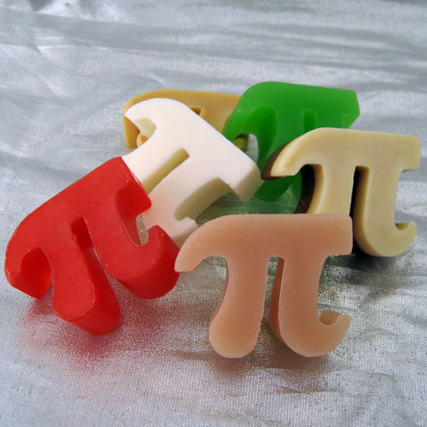 Box of Pi - Pi Symbol Soap Set