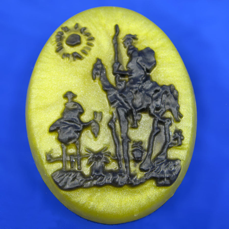 Man of La Washa Don Quixote Soap