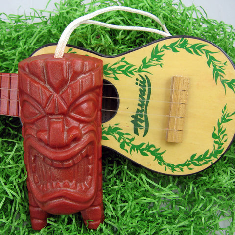 Squeaky Tiki Soap on a Rope