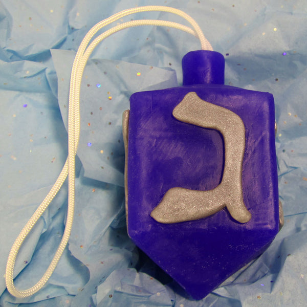 Hanukklean Dreidel Soap On A Rope