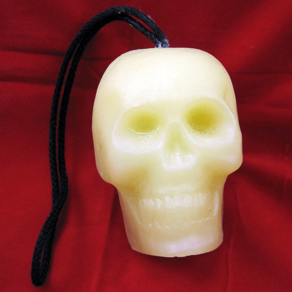 Alas Poor Yorick Skull Soap on a Rope
