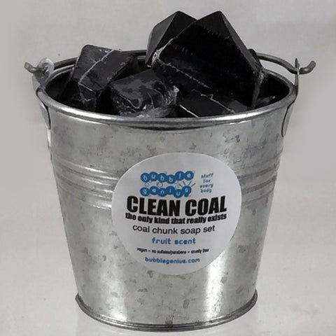 Clean Coal Bucket of Coal Soap