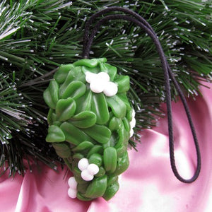 Berry Merry Kissmas Mistletoe Soap on a Rope