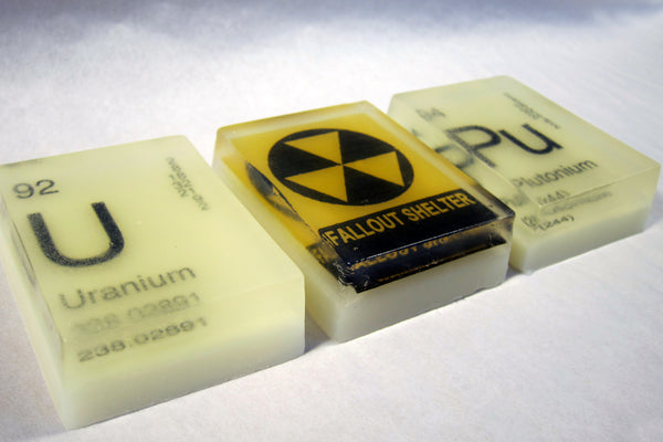 In Your Element Periodic Table Soap GLOW Gift Pack