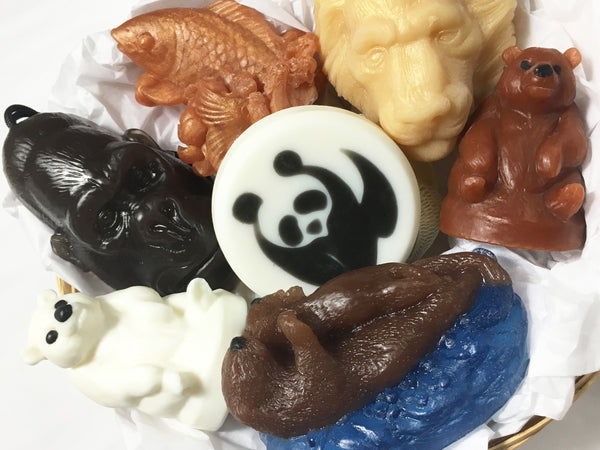 Wild Kingdom Animal Soap Gift Pack