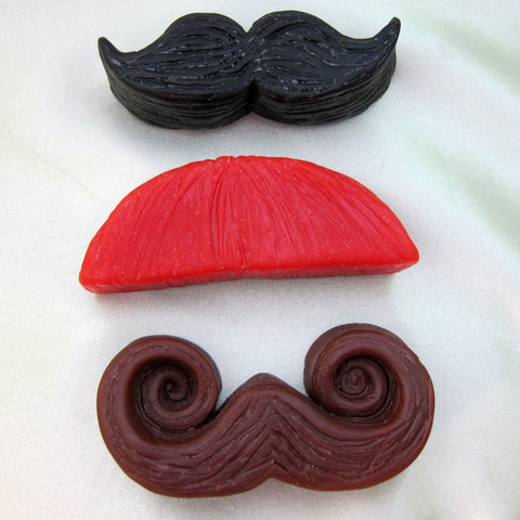 'Stache Box Mustache Soap Set