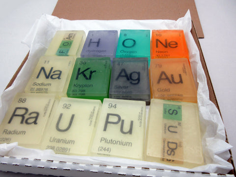 In Your Element Periodic Table Soap Mega Gift Pack